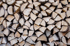 Background with logs Stock Image