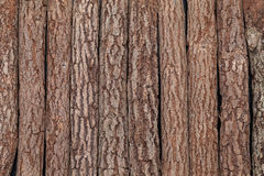 Background of logs. Clopse up, background of the old wooden logs Stock Photos