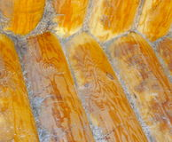 Background of logs and planks. The Background of logs and planks stock image