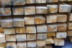 Background of logs and planks. The Background of logs and planks Royalty Free Stock Image