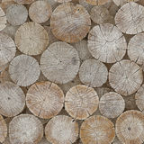 The background of logs. Seamless image Stock Photo