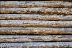 Background of logs stock photos