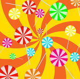 Background lollipop Stock Photography