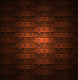 Background of long plates in steampunk Royalty Free Stock Image