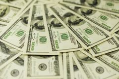 Background of a lot of banknotes of money cash stock photography