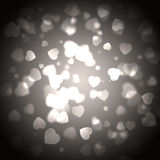 Background with a lot of hearts. Beautiful background with a lot of hearts Vector Illustration