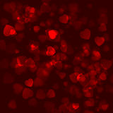 Background with a lot of hearts. Beautiful background with a lot of hearts Royalty Free Illustration