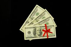 Background of a lot of money banknotes 100 dollars royalty free stock images
