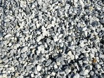 Construction pebbles background. Stones for construction. stock image
