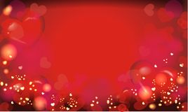 Background with lots of hearts. Lovely valentines background with a lot of hearts Stock Photos