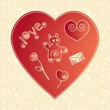 Background love Royalty Free Stock Images
