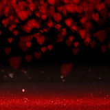Background with love heart Royalty Free Stock Photography