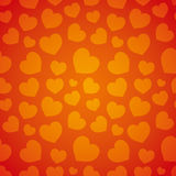 Background. Love hearts. Stock Images