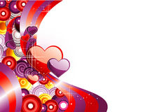 Background love illustration Royalty Free Stock Image