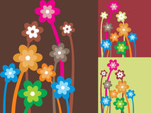 Background with lovely flower Royalty Free Stock Photography