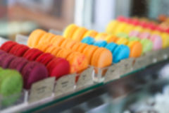 Background of macaron Royalty Free Stock Images