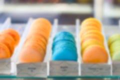 Background of macaron Stock Image