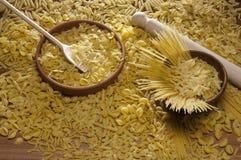 Background macaroni Royalty Free Stock Photos