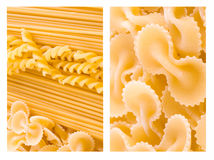 Background from macaroni Royalty Free Stock Photos