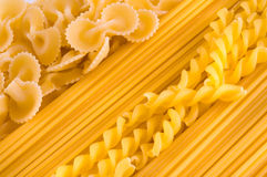 Background from macaroni Royalty Free Stock Photography