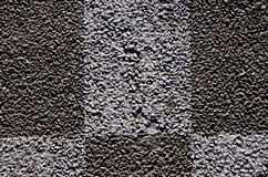 Background macro closeup of  asphalt road marks Stock Images