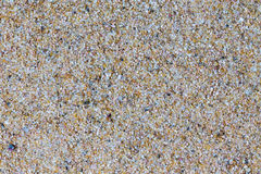 Background macro texture of beach sand Stock Photography