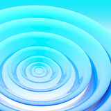Background made of abstract plastic circles. Background bright and glossy made of abstract plastic blue circles Royalty Free Stock Photo
