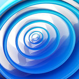 Background made of abstract plastic circles Royalty Free Stock Photo