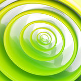 Background made of abstract plastic circles. Background bright and glossy made of abstract plastic green circles Stock Photo