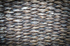 Background made of bark rope plants put vignette Stock Image