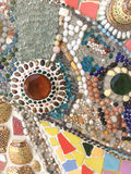 Background made of beautiful jewelry Royalty Free Stock Images