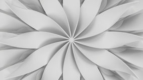 Background made of bended and twisted elements Royalty Free Stock Photos