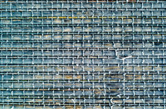 Background made of black bamboo napkin Royalty Free Stock Photo