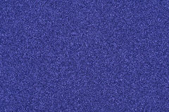 Background made of blue decorative sand. Stock Photography