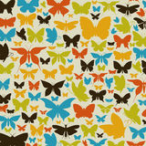 Background the butterfly2 Stock Images