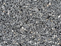 Background made of a closeup of a pile of crushed stone Stock Photography