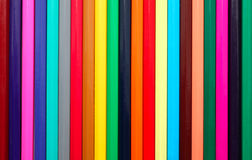 Background made from colored pencils Stock Photo