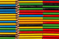 Background made with colored pencils Royalty Free Stock Photography