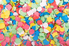 Background made with confetti Royalty Free Stock Image