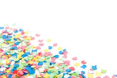 Background made with confettis Stock Images