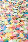 Background made with confettis Stock Photography