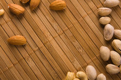 Background made of delicious nuts Stock Photo