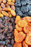 Background made of different dried fruits Royalty Free Stock Photography