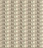Background made from dollar's banknotes. Background made from one hundred dollar's banknotes Royalty Free Stock Photos