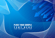 Free Background Made From Squares And Waves Stock Image - 5499591