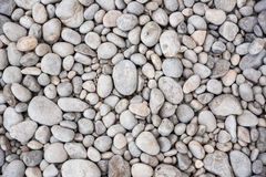 Background made of gray pebbles Royalty Free Stock Photography