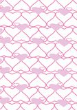 The background made from hearts Royalty Free Stock Photos