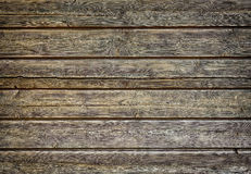 Background made of horizontal boards Stock Photography