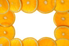 Background made of juicy oranges Royalty Free Stock Photography