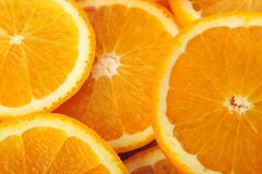 Background made of juicy oranges Stock Photo